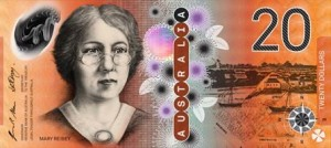 billetes australia 20 aud