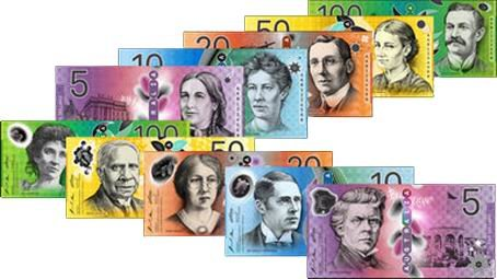 billetes dolar australiano