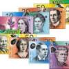 Billetes de Australia: dolares australianos y su cambio
